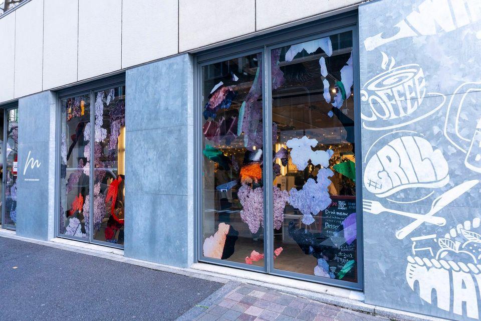 【EXHIBITION】有楽町microに春が来ました! カラフル&ポップなインスタレーションが展開中