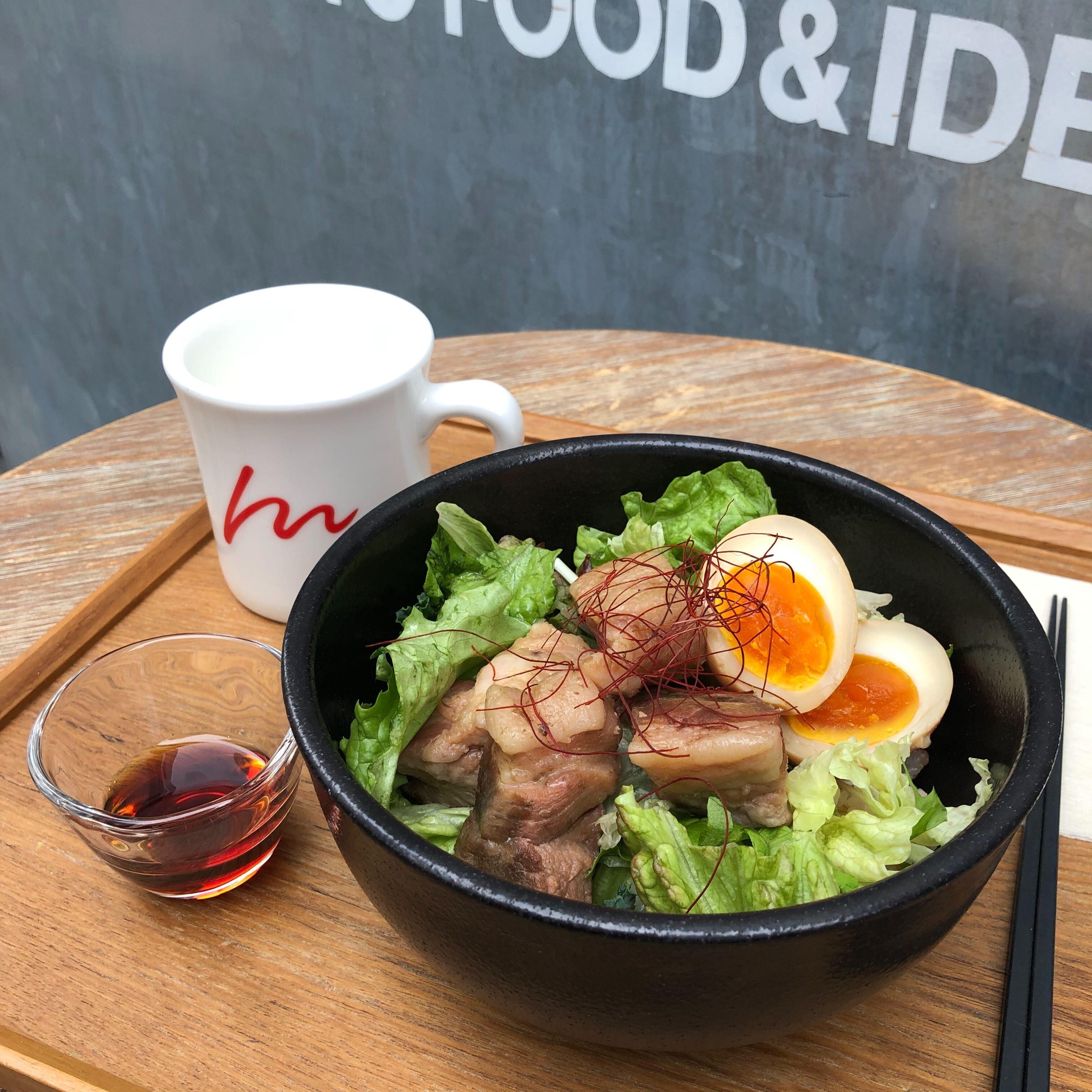 【新メニュー】人肌でとろけるような深い甘み!「32℃豚のトンポーロー丼」のイメージ画像