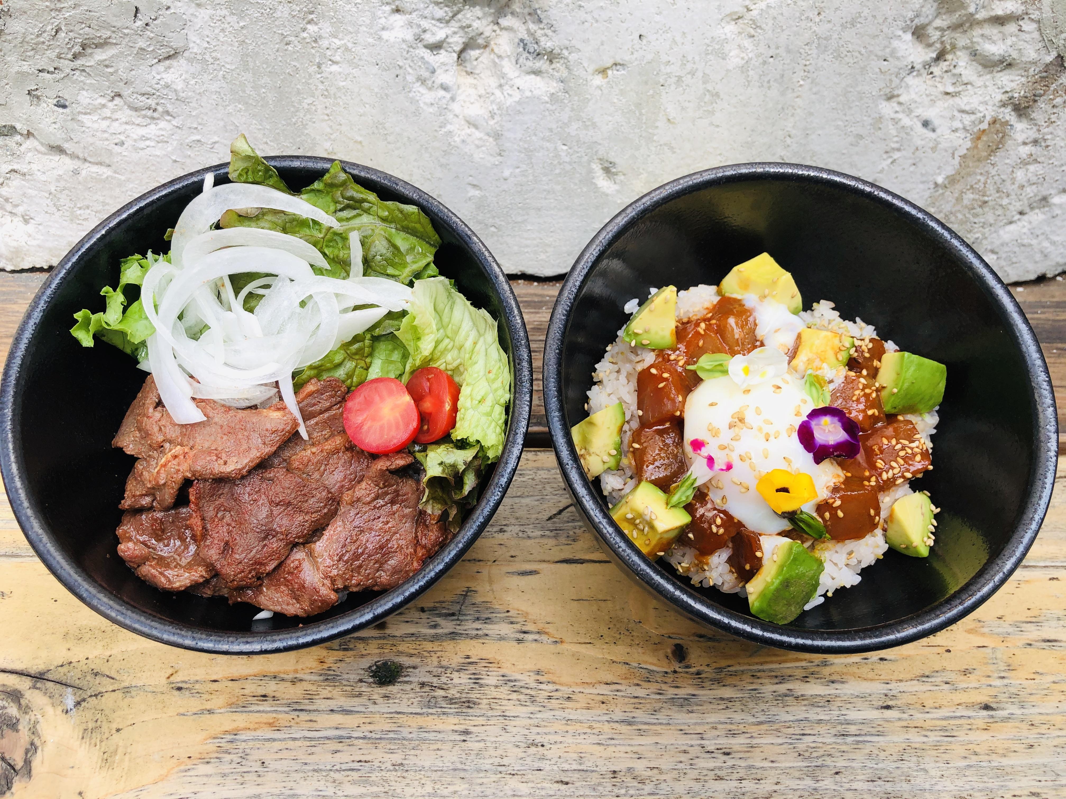 【新メニューのお知らせ】AIマグロポキ丼&micro特製ジビエ丼(7/5〜)のイメージ画像
