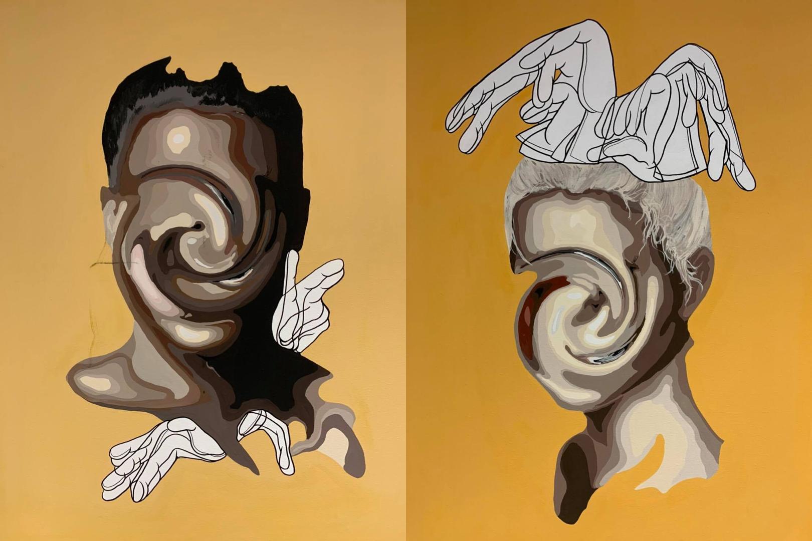 <p>8/6よりグラフィックアーティストOliの映像作品「THE GOLDEN SUN PHENOMENA」が「有楽町 Wall Art Gallery」にて、上映開始</p>