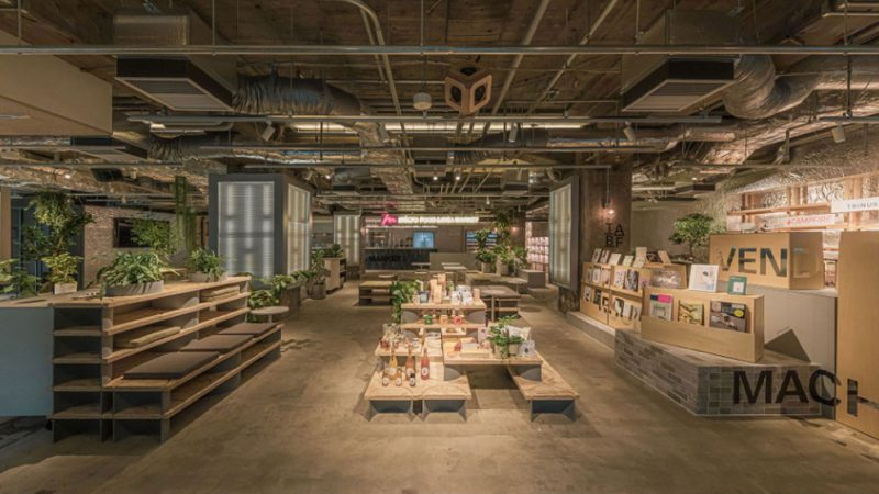 有楽町 micro FOOD&IDEA MARKETの空間デザインに秘められたコンセプト
